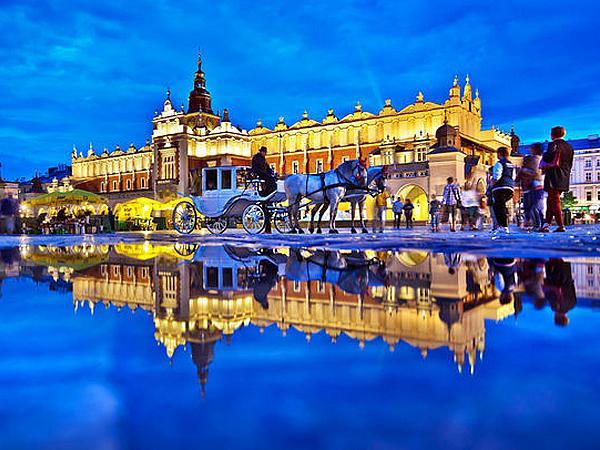 Královský Krakov. Pobyt v Krakowě v Hotelu Major*** pro dvě osoby se snídaněmi.
