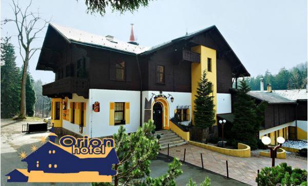 Balíček radosti v Jizerských horách: 2 noci v hotelu Orion s výhledem na Ještěd, snídaně a až 2 děti do 15 let zdarma