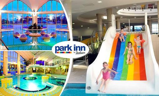 Pobyt v Hotelu Park Inn **** Sárvár v termálních lázních s polopenzí a neomezeným wellness až do června 2020