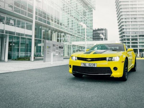 Pronájem supersportu Chevrolet Camaro Praha