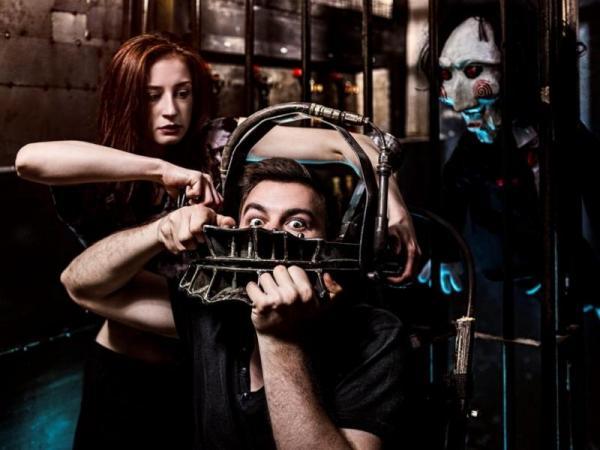 Úniková hra Saw: Hra o přežití Praha