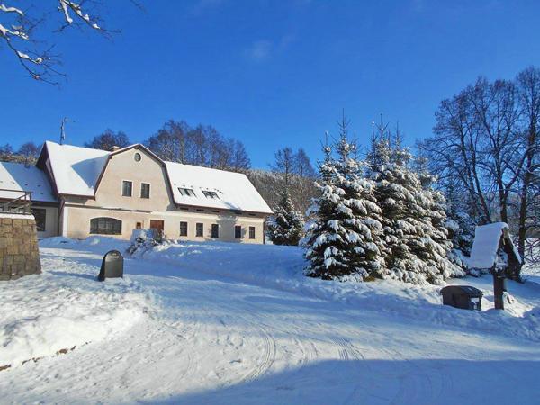 Krkonoše v rodinném penzionu v osadě Horní Albeřice s wellness a polopenzí