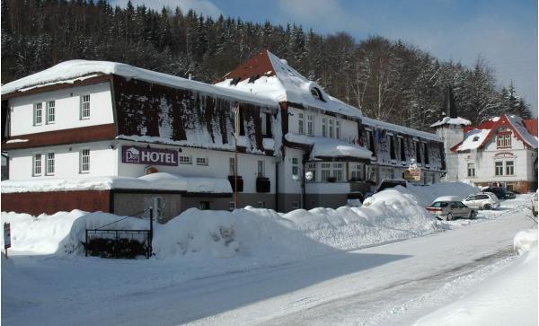 Celý rok v Hotelu PROM *** v Krkonoších u Černé hory s polopenzí a bazénem. S platností do konce roku