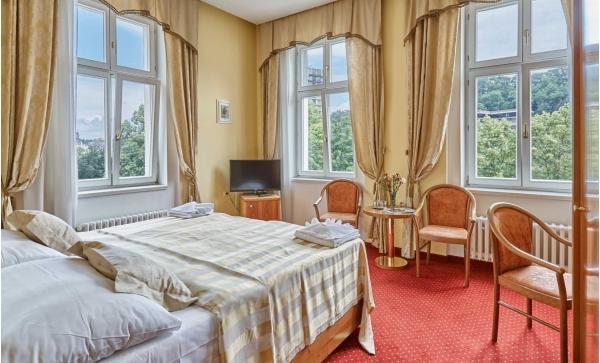 Spa hotel Sirius**** v historickém centru lázeňského města Karlovy Vary se vstupem do saunového světa a polopenzí