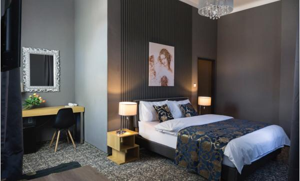 Stylový odpočinek s polopenzí v butikovém hotelu Da Vinci v Mariánských Lázních, i s wellness a platností až do dubna