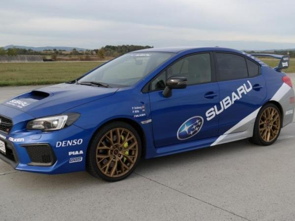 Subaru Impreza WRX STI Praha