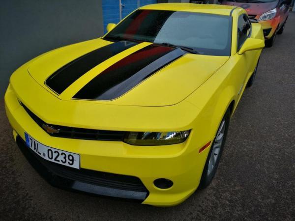 Pronájem supersportu Chevrolet Camaro 2015 Praha