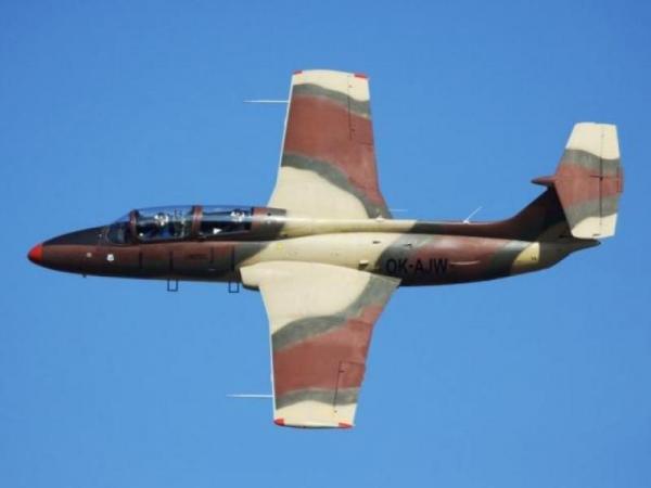 Exkluzivní let stíhačkou L-29