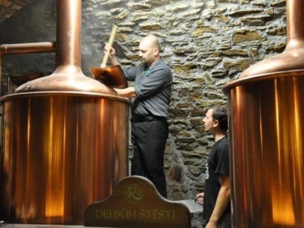 Sládkem na jeden den - dárek pro pivaře Vysočina