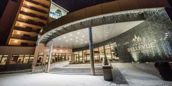 Luxus ve Vysokých Tatrách v GRAND HOTELU BELLEVUE**** s polopenzí a novým wellness