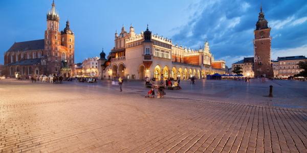 Cenově nenáročné ubytování v Krakově s volným vstupem na kluziště a do bazénu