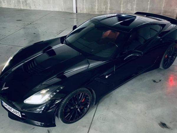 Jízda v Chevroletu Corvette C7 Stingray Praha