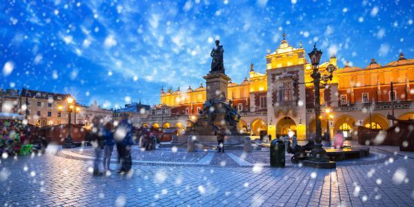 Pobyt se stravou a wellness v 4 * hotelu Sympozjum se snadným přístupem do centra Krakova