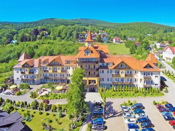 Jizerské hory z polské strany v hotelu s polopenzí, neomezeným wellness a fitness – také varianty s procedurami v ceně