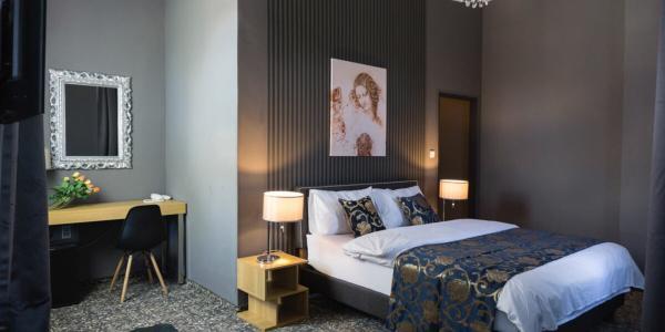Stylový odpočinek s polopenzí v butikovém hotelu Da Vinci v Mariánských Lázních, i s wellness a platností až do listopadu