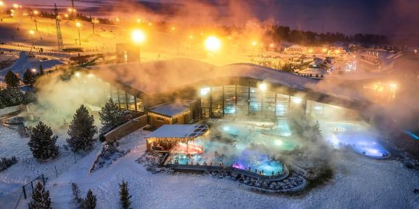 Celodenní vstup do Terma Bania - oblíbený aquapark s výhledem na Vysoké Tatry