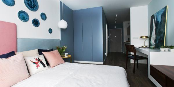 Téměř jako vlastní byt v centru Krakova: Luxusní apartmány s možností snídaně a parkování