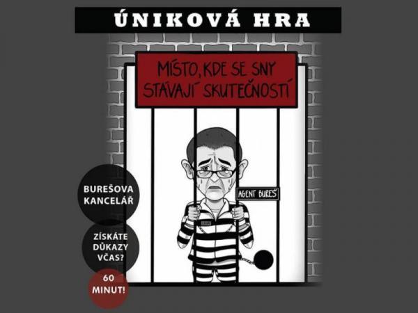 Úniková hra Chyťte Bureše Praha