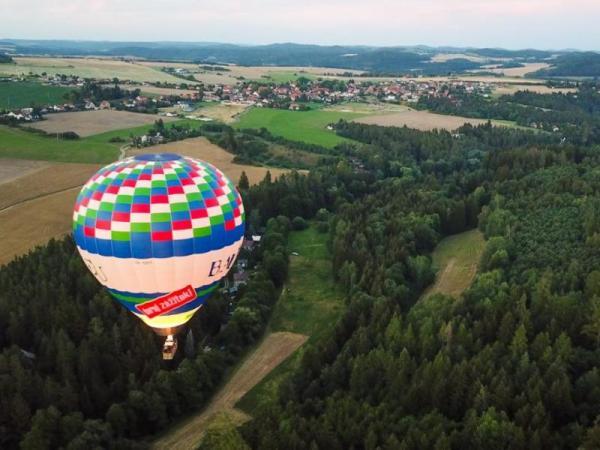 Vyhlídkový let balónem po celé ČR Celá ČR