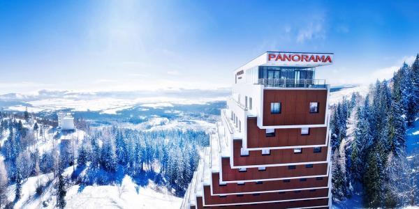 Relax v hotelu Panorama **** u Štrbského plesa s wellness, polopenzí a dítětem zdarma