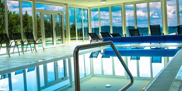 Wellness pobyt v Bílých Karpatech na Chatě Jana s bazénem i procedurami a 2 dětmi do 10 let zdarma včetně polopenze