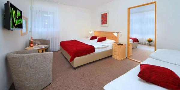 Pobyt během roku v hotelu Lenka v centru Špindlerova Mlýna přímo u lanovky Svatý Petr s polopenzí a platností do října 2020