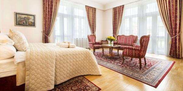 Stylové ubytování v centru Prahy v Boutique Hotelu Seven Days**** se snídaní a wellness