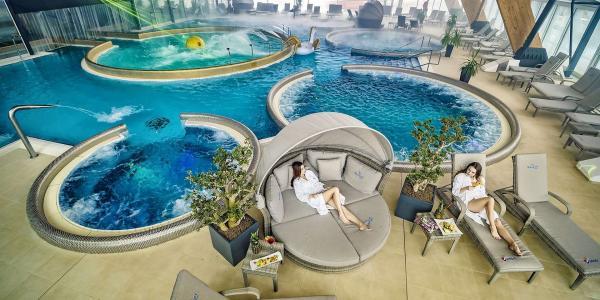 Relax v AquaCity Poprad a dobrodružství ve Slovenském ráji s výhledem na Tatry v Park Hotelu Čingov ***