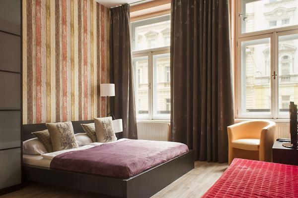 Moderní Royal Court Apartments v historickém centru Prahy, 10 minut od Václavského náměstí, se snídaní a platností do března 2021