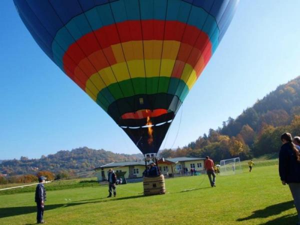 Vyhlídkový let malým balónem Vysočina