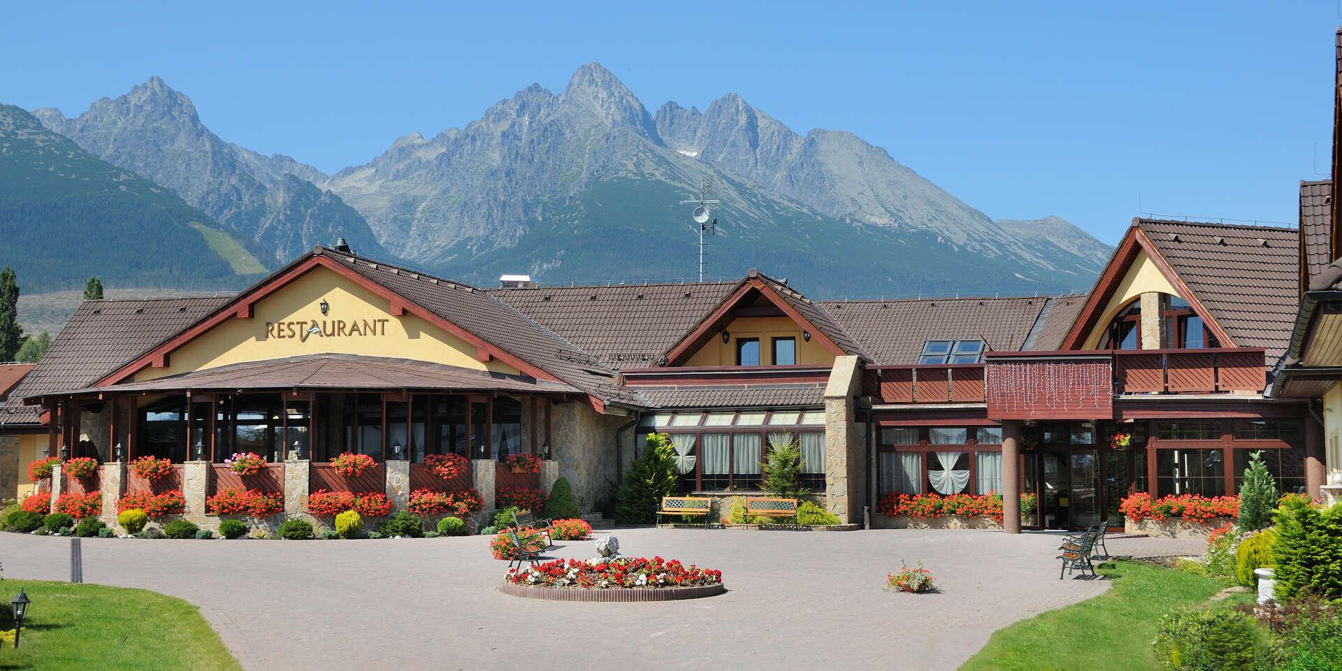Nadechněte se tatranského vzduchu v oblíbeném hotelu Amalia *** + s polopenzí a wellness během celého roku 2020