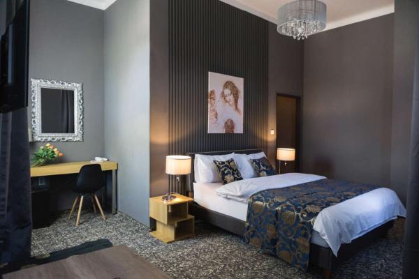 Stylový odpočinek s polopenzí v butikovém hotelu Da Vinci v Mariánských Lázních, i s wellness a platností až do prosince