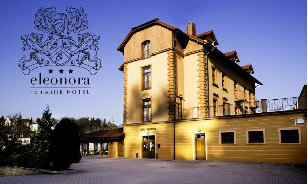 Romantik hotel Eleonora s oceněním 3* Hotel Jihočeského kraje poblíž historické centra města Tábor s polopenzí a koupelí