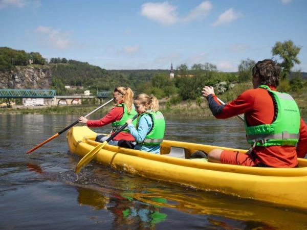 Dvoudenní vodácký pobyt v Českosaském Švýcarsku