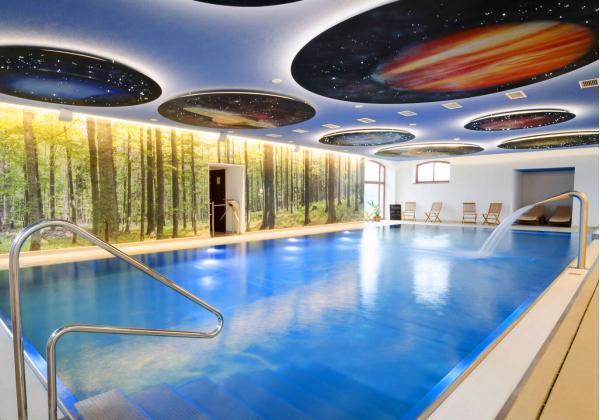 Wellness dovolená s polopenzí v překrásném Masarykově dvoře na Podpoľaní, platnost až do března 2021