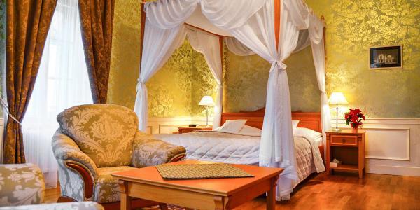 Magie Zámeckého hotelu Lednice **** s ubytováním od 1 noci a polopenzí pro dva