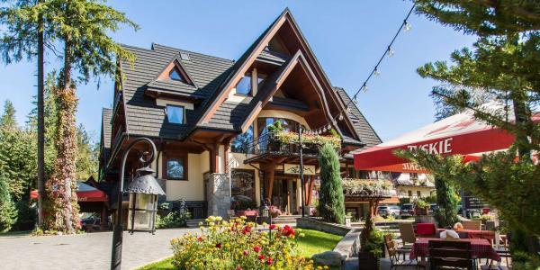 Pobyt v nejkrásnější části Zakopaného s ubytováním v hotelu Willa Pod Skocznią ***
