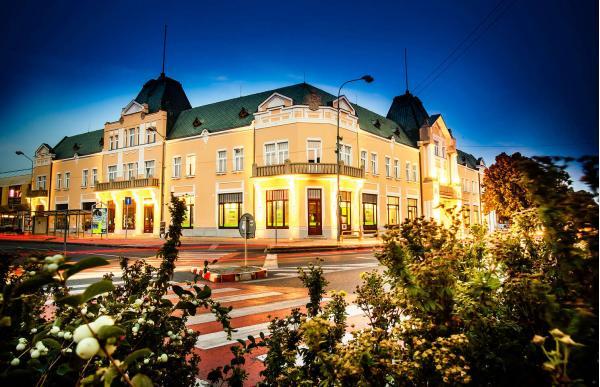 Pobyt s polopenzí v historickém hotelu Lev*** s možností využití wellness