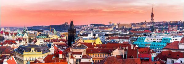 Ubytování v hostelu Elf se snídaní na pražském Žižkově jen kousek od centra pro 3 nebo 4 osoby