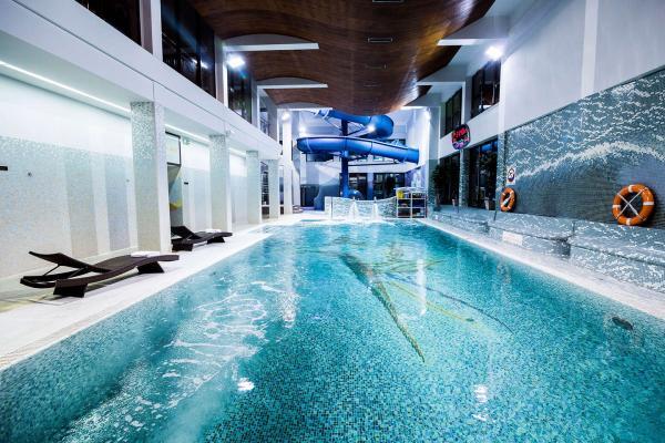 Relax ve známém penzionu Klimek **** pro páry s neomezeným aquaparkem, polopenzí a blízkými přírodními atrakcemi