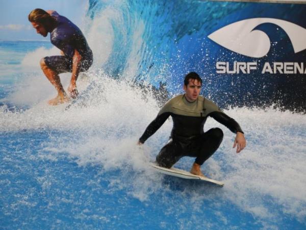 Indoor surfing Praha