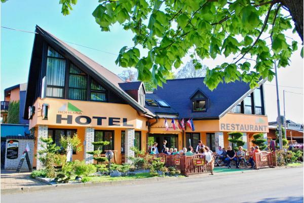 3 dny odpočinku ve Františkových lázních v hotelu Bohemia s polopenzí, bylinkovým zábalem a vstupem do solné jeskyně