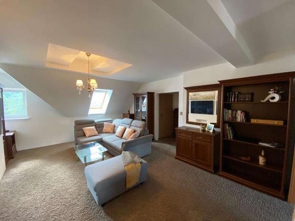 Ubytování pro 2 až 6 osob v mezonetovém apartmánu s výhledem na Gerlach