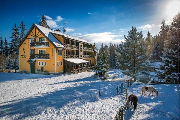 Rodinná dovolená nebo Silvestr uprostřed lesa v horské chatě OREŠNICA *** s polopenzí