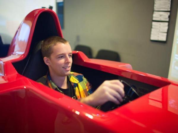 Závodní simulátor Formule 1 Praha