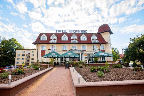 Wellness pobyt v Mariánských Lázních v hotelu Ferdinand s polopenzí a lázeňskými procedurami