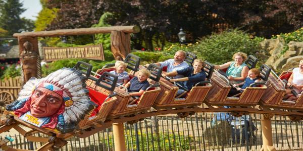 Zábavný den v německém Heide Parku včetně celodenní vstupenky pro 1 osobu