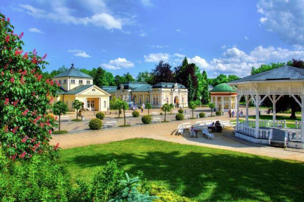 3 dny odpočinku ve Františkových lázních v hotelu Bohemia s polopenzí, medovým zábalem, vstupem do solné jeskyně a platností až do prosince 2021