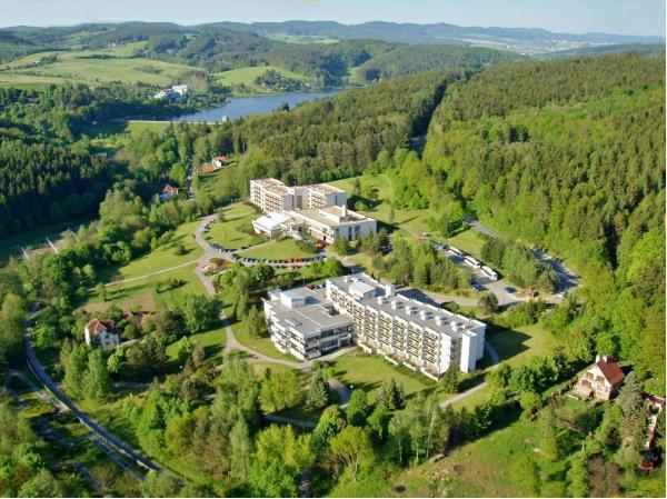 Celoroční pobyt v hotelu Harmonie v Luhačovicích s polopenzí či all inclusive a wellness