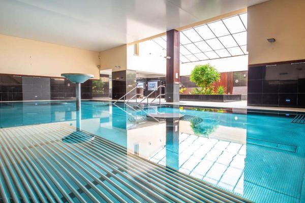 Zcela nový hotel ve známých TERMÁLECH Malé Bielice s polopenzí a neomezeným vstupem do bazénového komplexu